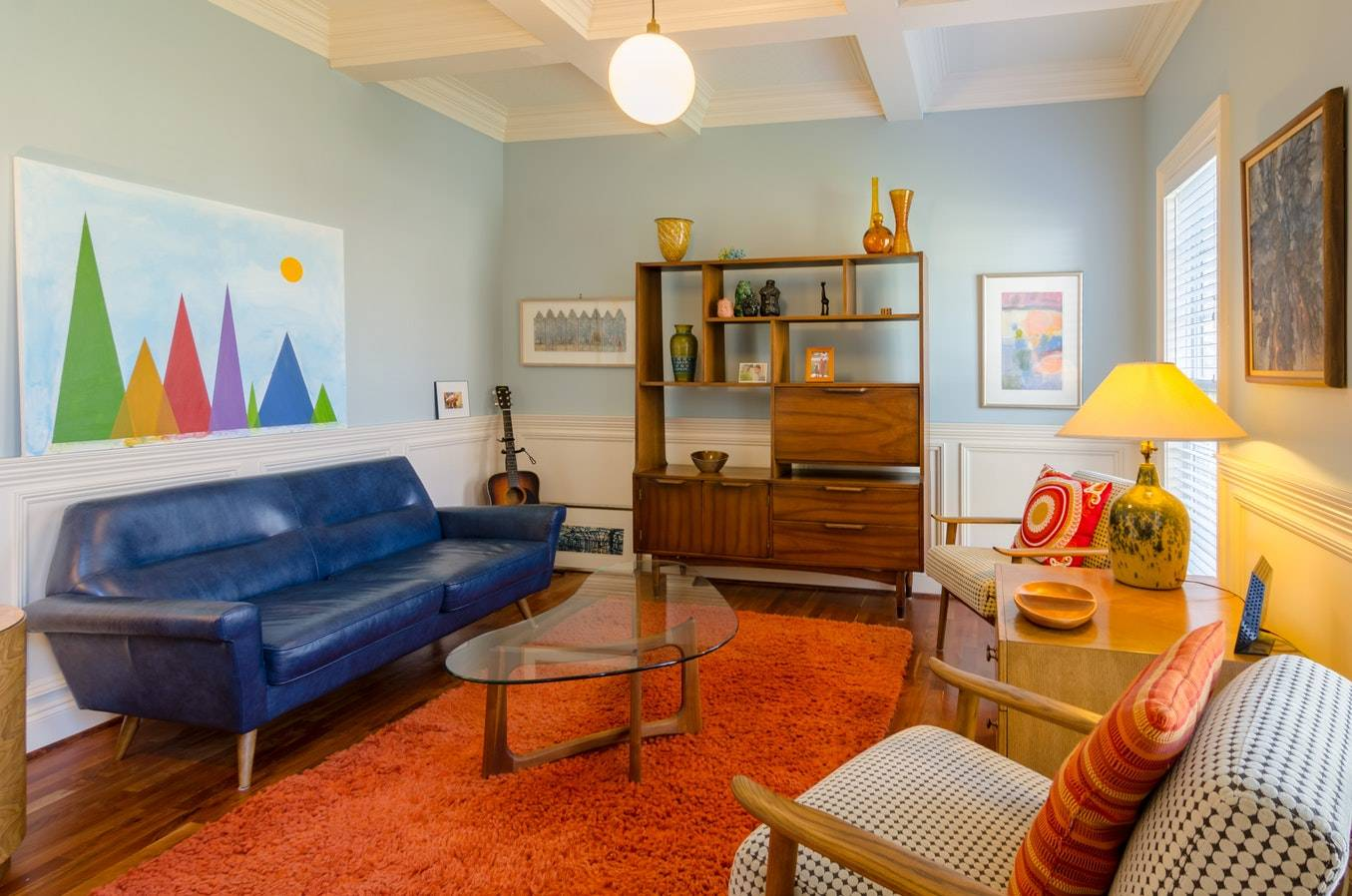how to decorate your living room walls