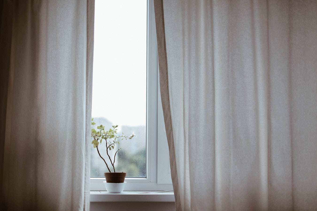 transform your living room with curtains